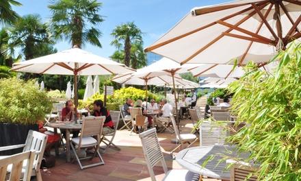 Menu avec entrée, plat et dessert pour 2 ou 4 à partir de 32 € au restaurant Ailleurs du Westotel**** Nantes Atlantique