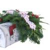 U.S. Mailbox Centerpiece with Fresh Evergreens