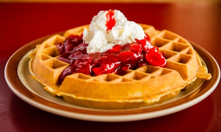 $12.50 for $20 Towards Breakfast or Lunch for Two at Sunrise Waffle Shop