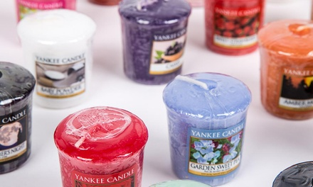 Yankee Candle Pack of Eight Assorted Votive Candles