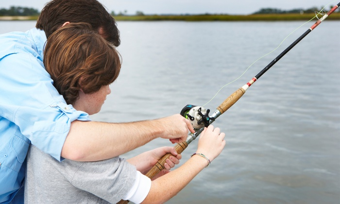 Gone Fishin' Bait and Tackle - Cuyahoga Falls: Three-Hour Fishing Charter for One, Two, or Four from Gone Fishin' Bait and Tackle (Up to 62% Off)