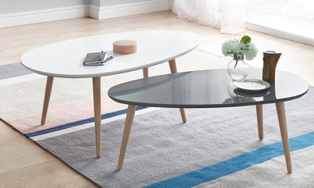 tables basses scandi bobochic groupon shopping. Black Bedroom Furniture Sets. Home Design Ideas
