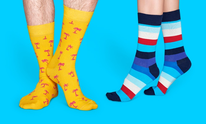 Happy Socks: $29 for $50 Worth of Colorful Design Socks from Happy Socks