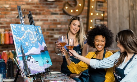 Painting Event for One, Two, or Four at Muse Paintbar (Up to 30% Off). Four Options Available.