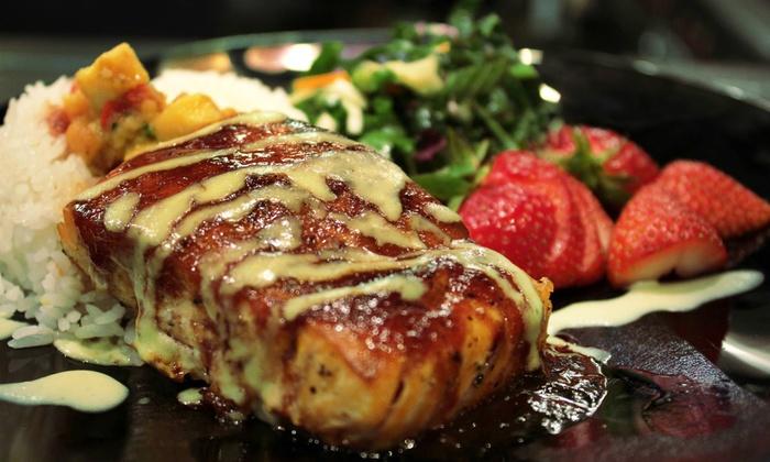 asian-latin fusion cuisine - adobo dragon | groupon