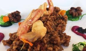 Restaurante Mar de Cañas: Menú para 2 o 4 personas con entrante, principal, postre y bebida desde 29,95 € en Restaurante Mar de Cañas