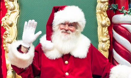 $26.99 for a Santa Photo Package, Redeemable Monday-Thursday at My Santa Experience ($45.98 Value)