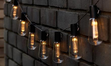 10, 20 or 30 Globrite Vintage Edison Solar Bulb Lights