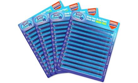 Sticks con speciali composti enzimatici per igienizzare, pulire e disinfettare le tubature
