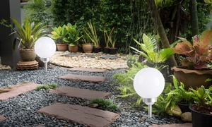 Boules LED solaires lumineuses Lumisky, modèle Moony, 20 cm ou 30 cm