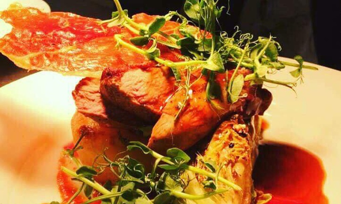 The Boat Erbistock - Erbistock: Two-Course Meal with Prosecco for Two or Four at The Boat Erbistock (Up to 61% Off)