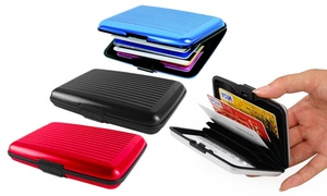 Porte cartes Alu RFID