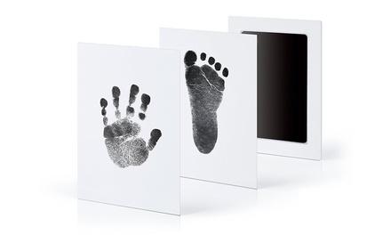 Set per stampe di mani e piedi senza contatto con l'inchiostro
