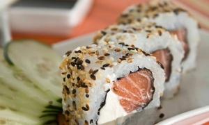 Sudare Sushi: 30 o 60 piezas de sushi all salmón para take away en Sudare Sushi. Elige sucursal