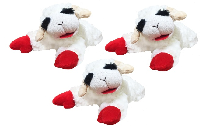 Up To 47 Off On Lamb Chop Dog Toy 3 Pack Groupon Goods