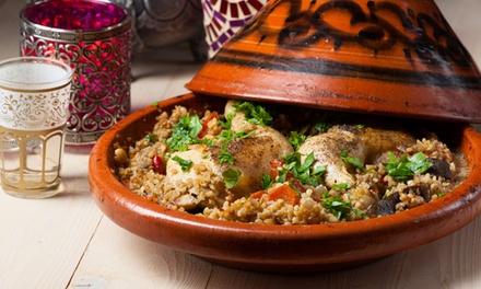 Entrée, plat et dessert pour 2 ou 4 personnes dès 29,90 € au restaurant La Table De Fès