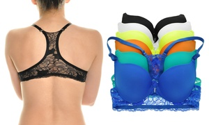 Angelina Lace Racerback Demi Bras (6-Pack) at Angelina Lace Racerback Demi Bras (6-Pack) , plus 6.0% Cash Back from Ebates.