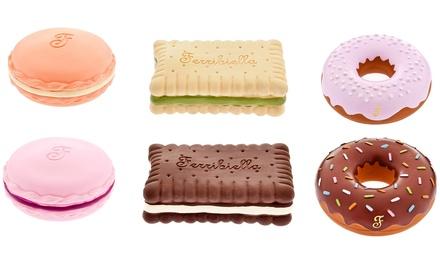 4 biscotti in lattice Ferribiella per cani, disponibili in 3 modelli