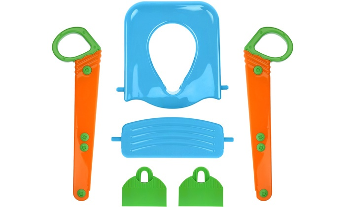 Stupendous Up To 68 Off On Kids Potty Training Seat Set Groupon Goods Machost Co Dining Chair Design Ideas Machostcouk