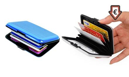 1, 2 o 3 carteras de aluminio coloridas
