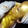 Facial Treatment with Gold Mask