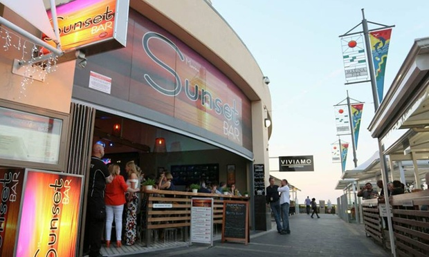 Marina sunset bar in glenelg north groupon for 12 in 1 game table groupon