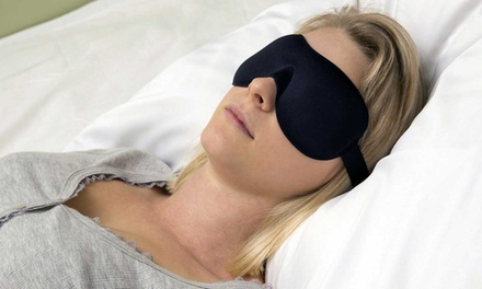 One, Two or Three Padded Sleeping Eye Masks