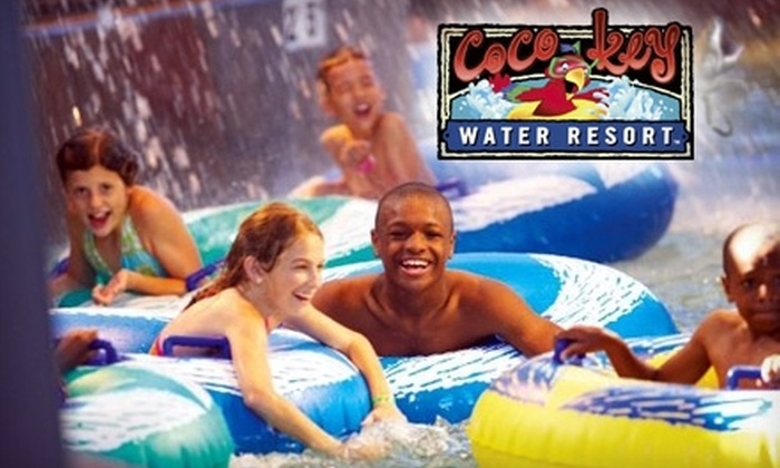 CoCo Key Water Resort - Rockford: $50 for Four Day-Passes at CoCo Key Water Resort ($100 Value)
