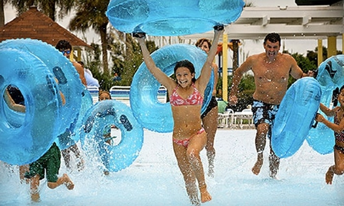 Summer Waves Water Park - Jekyll Island: $9 for a General-Admission Ticket to Summer Waves Water Park (Up to $19.95 Value)