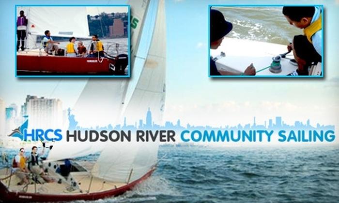 Hudson River Community Sailing - Chelsea: $79 Sailing Lesson with Hudson River Community Sailing
