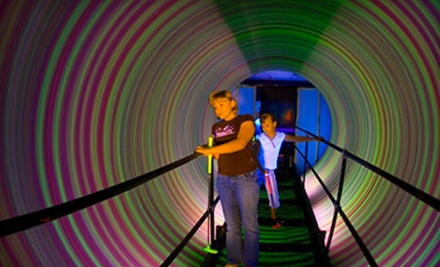 1-Day Pass  - The Haunted Mill and Purple Planet 3-D Mini Golf in Belmont