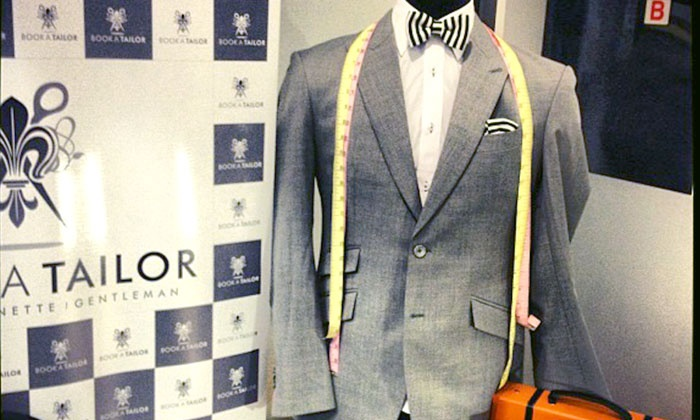 BookATailor - Chicago Showroom: Two or Four Custom Shirts or Bespoke Suit with Option for Two Custom Shirts at BookATailor (Up to 64% Off)