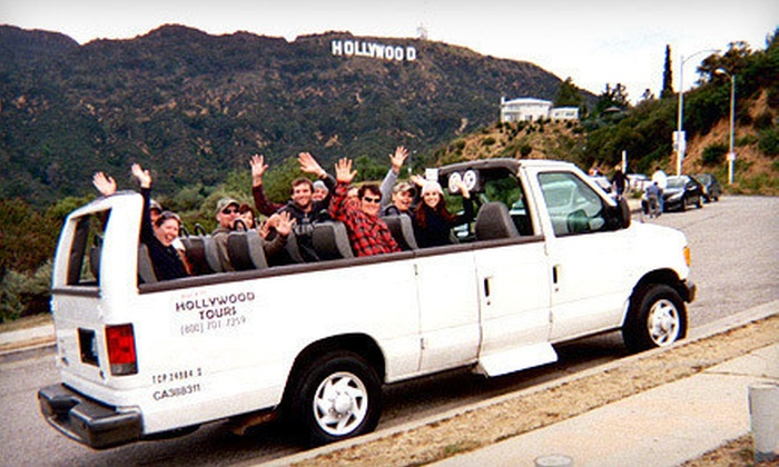 Rockin Hollywood Tours - Hollywood: Two-Hour Hollywood Sights Tour for One or Five from Rockin Hollywood Tours (Up to 56% Off)