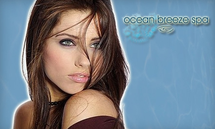 Ocean Breeze Spa - Vancouver: $149 for a Brazilian Blowout at Ocean Breeze Spa (Up to $350 Value)