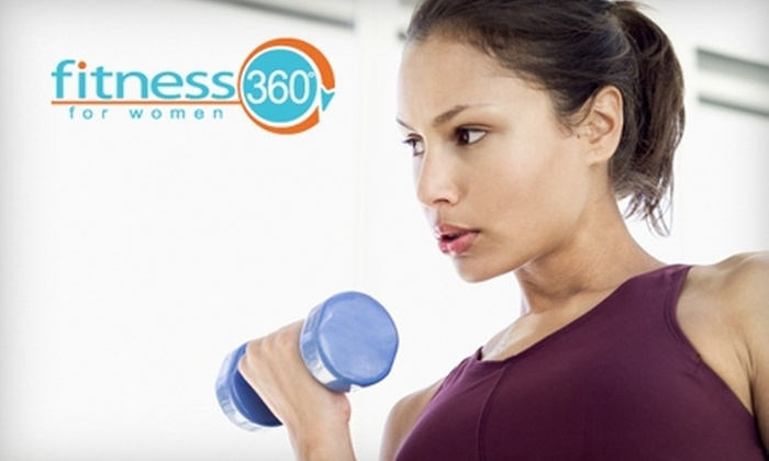 Fitness 360º - Waterloo: Women's Fitness and Smoothies at Fitness 360º. Choose from Three Options.