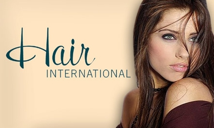 Hair International Salon & Spa - Perry: $25 for a Mani-Pedi ($50 Value) or $30 for a Facial or Massage at Hair International Salon & Spa (Up to $65 Value)