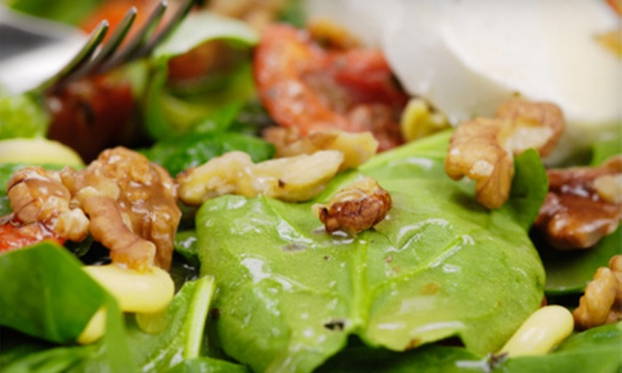 Tree Hugger's Cafe - Berea: $16 for Healthy Organic Dinner for Two at Tree Huggers Café (Up to $36 Value)