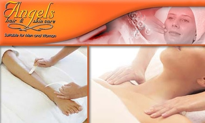 Angels Hair & Skin Care - Lyon Park: $49 for $105 Worth of Salon Services at Angels Hair and Skin Care