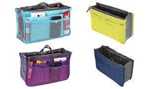 oferta: 1, 2, 3 o 4 organizadores para el bolso disponibles en varios colores desde 5,99 € (hasta 92% de descuento)
