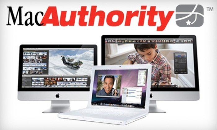 MacAuthority - Multiple Locations: $10 for $100 Toward Mac Computers at MacAuthority