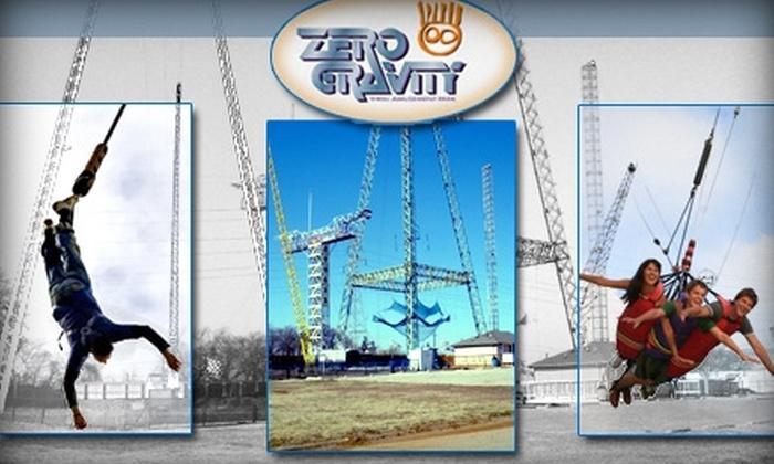 Zero Gravity Thrill Amusement Park - Dallas: $14 for One of Five Thrill Rides at Zero Gravity Thrill Amusement Park ($31.39 Value)