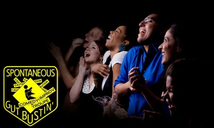 Spontaneous Gut Bustin' - Taylor Street: $5 for Two Admissions to Spontaneous Gut Bustin' Comedy Improv Troupe ($10 Value)