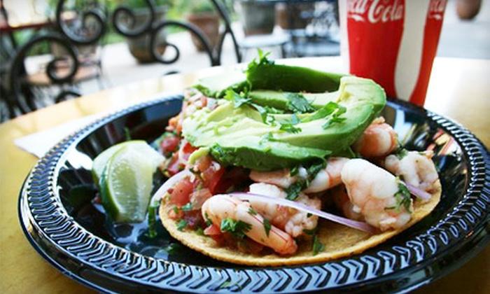 La Taquiza Fish Tacos - Pueblo: $8 for $16 Worth of Mexican Fare at La Taquiza Fish Tacos in Napa