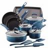 Rachael Ray Porcelain II Nonstick Cookware Set (14-Piece)