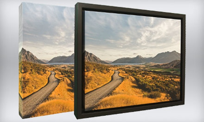 """44 Wide: One or Two 16""""x20"""" Gallery-Wrapped Photo Canvases from 44 Wide"""