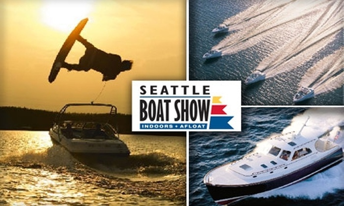 Seattle Boat Show - South-Lake Union: $11 for One Five-Day Pass to the Seattle Boat Show