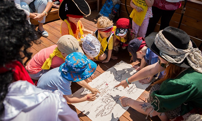 Pirate Life - Manitou Bridge, Centre Island, Toronto Islands: Up to 52% Off Family Adventure at Pirate Life