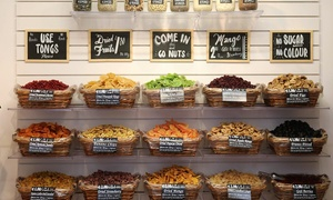 Nutty Delights: €10 or €20 Towards Nuts and Snacks at Nutty Delights (50% Off)
