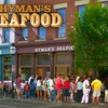 $10 for Fare at Hyman's Seafood & Aaron's Deli