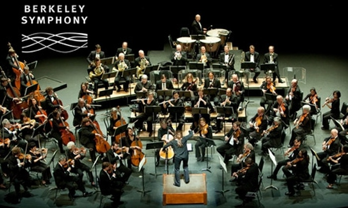 Berkeley Symphony  - University of California Berkeley: $60 for Tickets to Three Berkeley Symphony Performances ($120 Value)